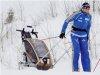 Chariot-ski-set