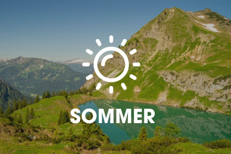 Sommerurlaub im Allgäu