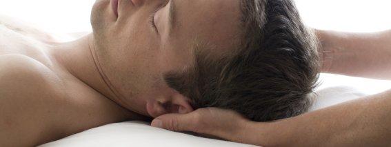 Kopf Nacken Massage