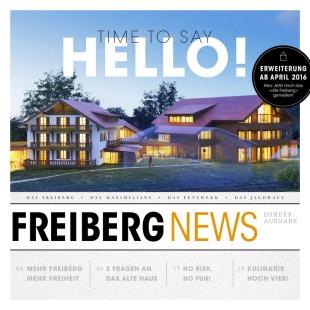 Freiberg News Sonderausgabe