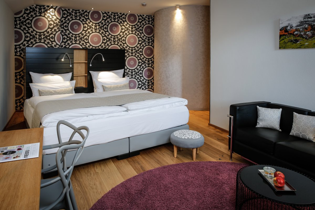 Design Zimmer / 4 Sterne Hotel / Oberstdorf im Allgäu
