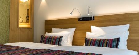 Zimmer 11: Schlafbereich