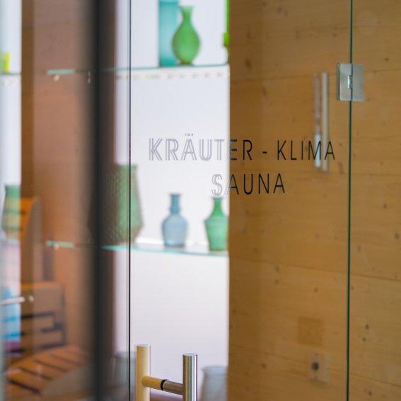 Kräuter-Klima Sauna