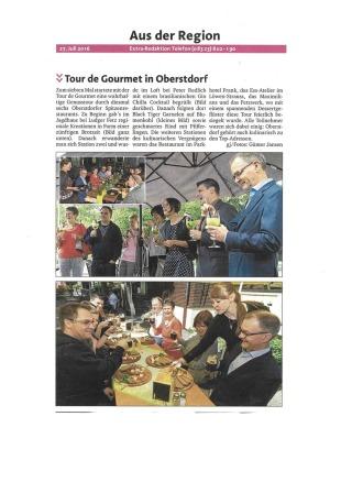 Extra Blatt Oberallgäu Juli 2016