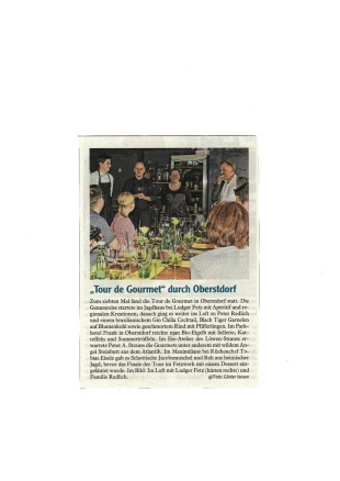 Tour de Gourmet - Allgäuer