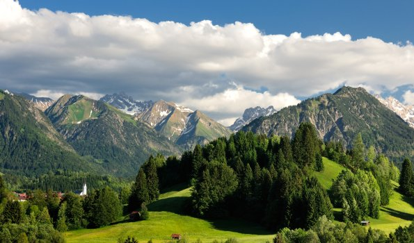 Lumpental auf Oberstdorf