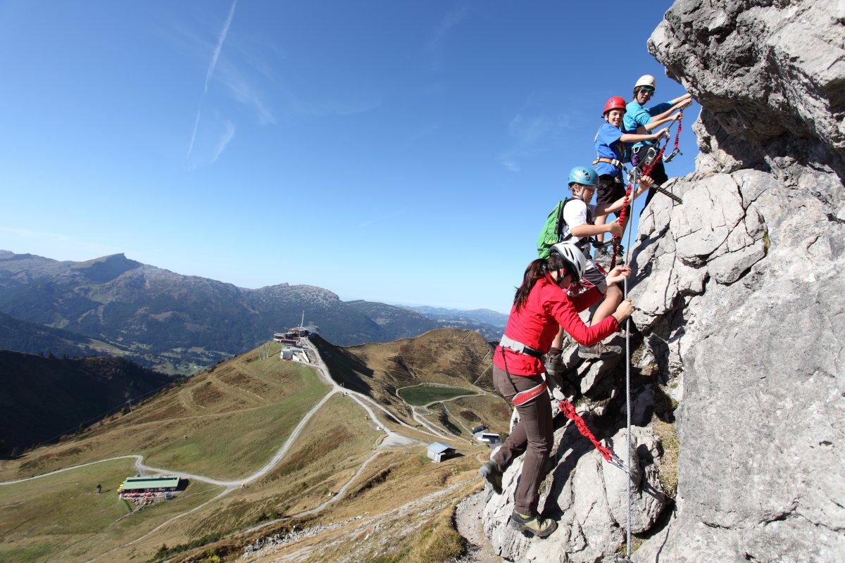 Klettersteig Urlaub : Highlights vom nordwand und seewand klettersteig urlaub youtube