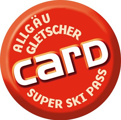 Allgäu Gletscher Card Logo