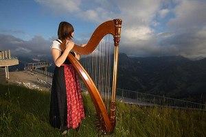 Abendmusik mit Harfenklang