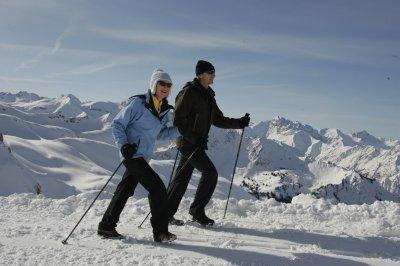 Nordic Walking im Winter