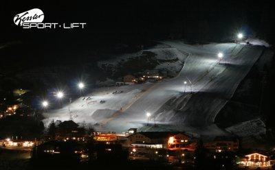 Nachtskilauf am Kesslerlift