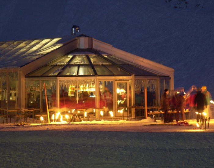 Panoramabar Gemsnest im Winter