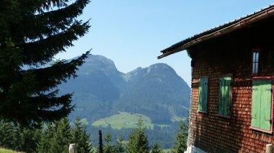 Ausblick vom Riezler Höhenweg