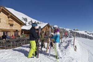 Pause an der Alpe Bierenwang