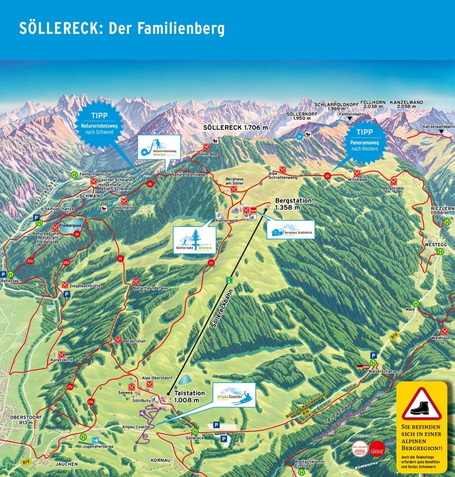 Wanderpanorama Söllereck
