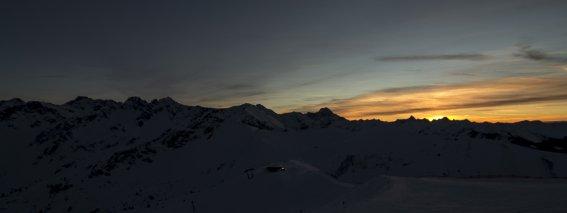 Sonnenuntergang am Fellhorn