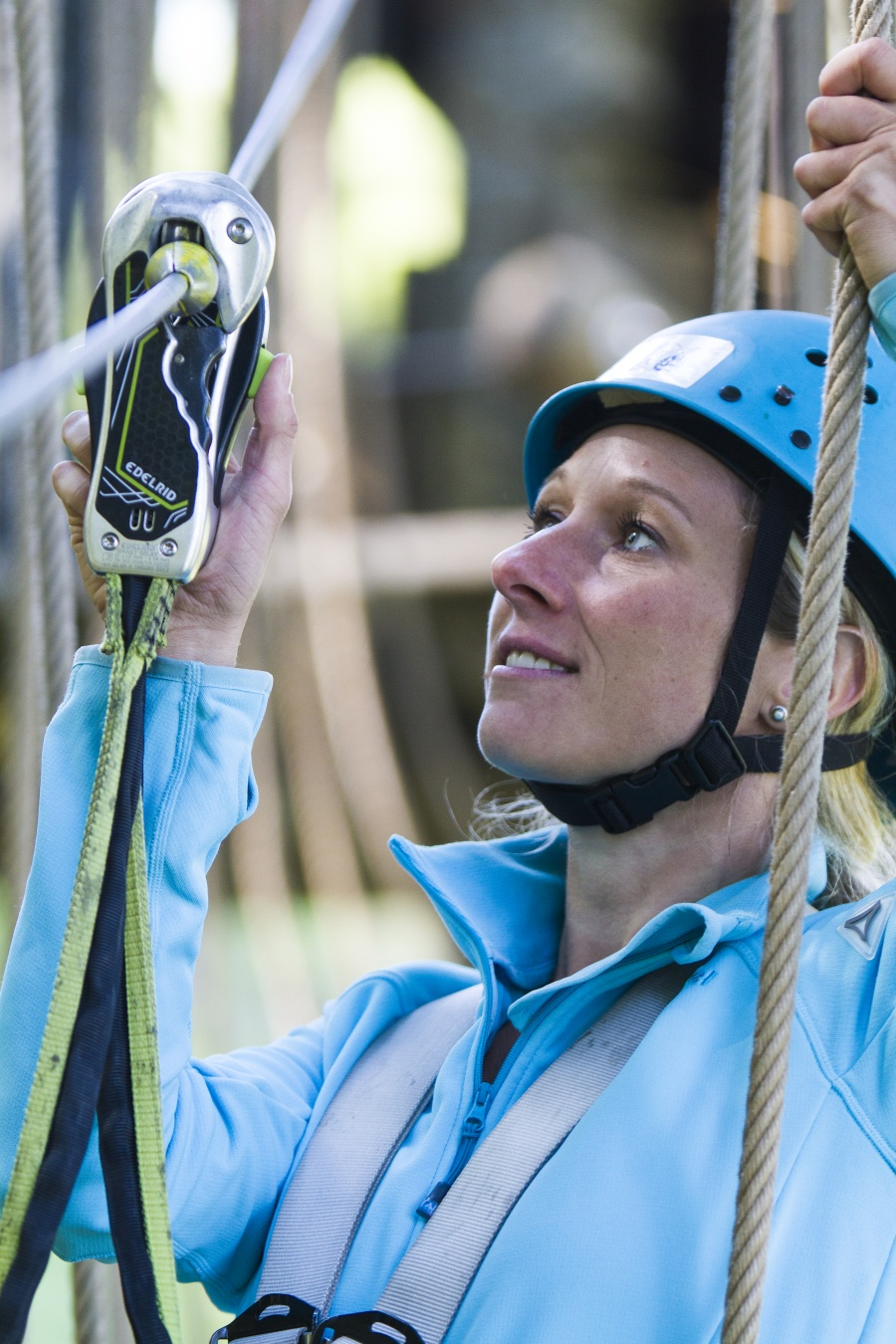 Sicherheit dank Smart Belay