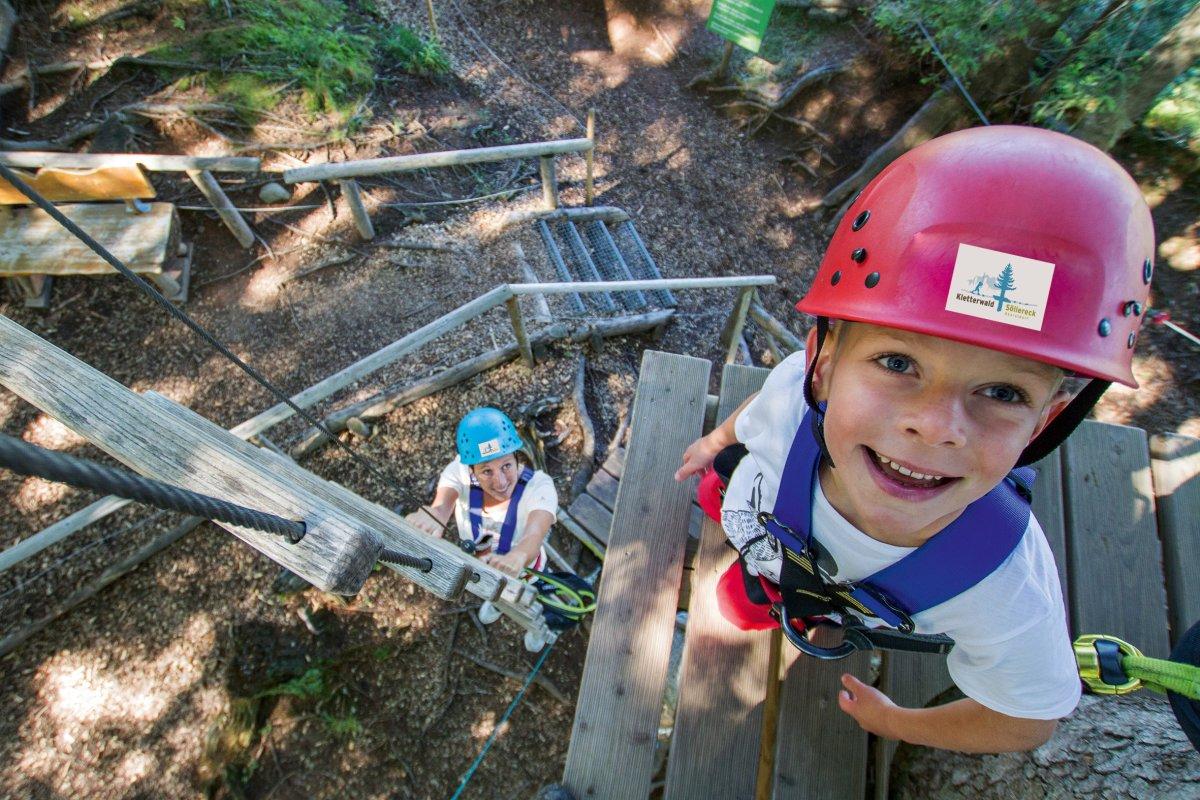 Kletterwald für kinder