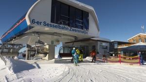 die Bergstation der Zwerenalpbahn