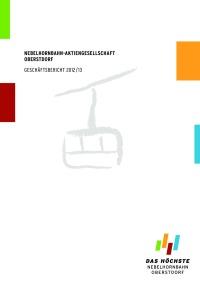 Geschäftsbericht 2012/13