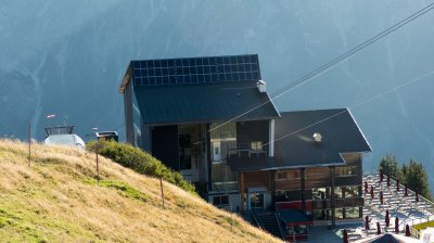 Photovoltaik-Anlage am Fellhorn