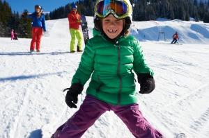 Skifahren lernen mit viel Spaß