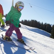 Skifahren lernen am Söllereck