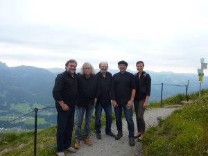 Werner Specht am Fellhorn Gipfel