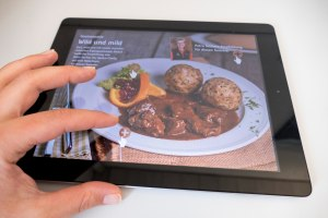 interaktive Inhalte im Tablet Magazin 'Das Höchste'