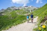 gemeinsame Wanderung am Nebelhorn