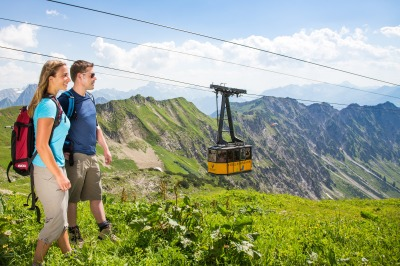 Ausflug mit der Nebelhornbahn