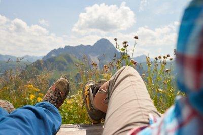 entspannen mit Ausblick