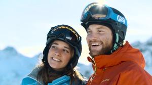 Gemeinsam Skifahren