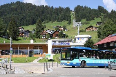Talstation der Heubergbahn