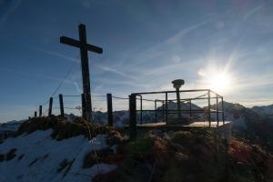Walmendingerhorn Gipfelkreuz