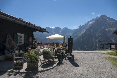Einkehr bei der Sonna Alp