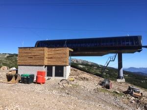 Neue Bergstation