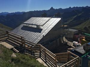 Einhausung Gipfelbahn