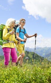 Gemeinsame Bergwanderung