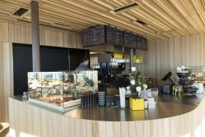 im neuen Gipfelrestaurant