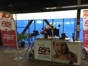 Die RSA Moderatoren Tom und Frau Kathrin auf dem Fellhorn