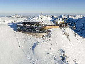 Gipfelstation am Nebelhorn