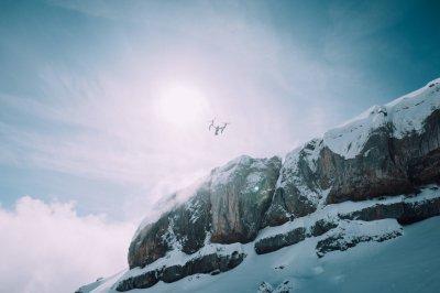 Drohne am Ifen