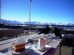 Kaffee und Kuchen am Nebelhorn