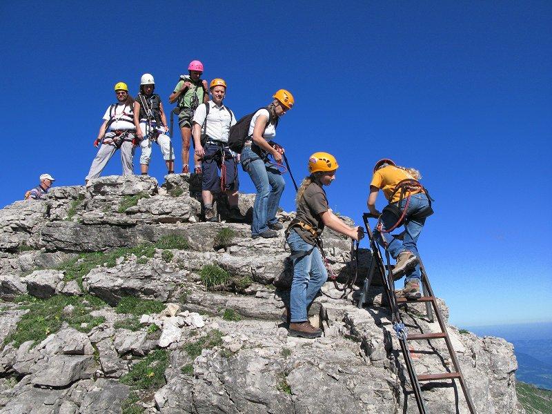 Klettersteig Nebelhorn : Peter s bergseiten hindelanger klettersteig