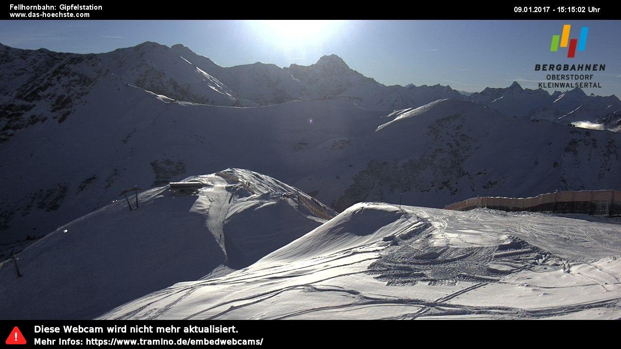 Fellhorn Gipfelstation