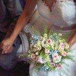 Blumestrauße zur Hochzeit