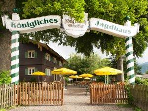 Eingang Biergarten