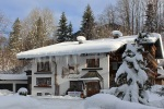 Das kleine Landhaus im Winter