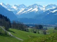 Ausblick vom Buchenhain in Schöllang